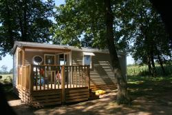 Rental - Mobile Home Confort+ 30-33M² (2 Bedrooms- 1 Bathrooms) Tv - Flower Camping Lac du Marandan