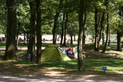Pitch - Pitch Trekking Package By Foot Or By Bike, Without Car + 1 Tent + 10A Electricity - Flower Camping Lac du Marandan