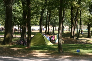 Pitch Trekking Package By Foot Or By Bike, Without Car + 1 Tent + 10A Electricity