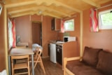 Rental - Gipsycar Eco 20m² (1 bedroom) without private facilities - Flower Camping Lac du Marandan
