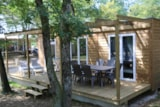 Rental - Chalet Premium 35M² (2 Bedrooms - 2 Bathrooms) Tv - Dishwasher - Flower Camping Lac du Marandan