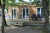 Bedroom - Room, bathroom, wc with TV & free wifi - Flower Camping Lac du Marandan