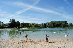 Beaches Flower Camping Lac Du Marandan - St Romans