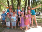 Entertainment organised Flower Camping Lac du Marandan - St Romans