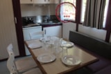 Rental - Chalet Framboise Eco 23M² (2 Bedrooms) + 1 Car Included - Flower Camping les Chênes Rouges