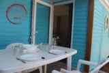 Rental - Mobil Home Grenadine air-conditioning Confort+ 33m² (3 bedrooms) + 1 car included - Flower Camping les Chênes Rouges