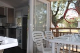 Rental - Mobil Home Corail Confort 22m ² (2 bedrooms) + air-conditioning + 1 car included - Flower Camping les Chênes Rouges