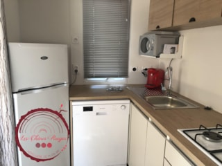 Mobile Home Rubis Premium 32M² (3 Bedrooms) + Airconditioning + Tv + 1 Car Included