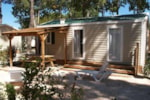 Rental - Mobile home MAURY 27m² - 2 bedrooms - Airotel Camping Le Soleil