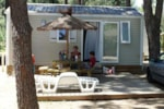 Rental - Mobile Home CERET 23m² - 2 bedrooms - Airotel Camping Le Soleil