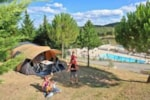 Pitch - Package **** : Pitch >120 m², electricity 10A, water and drainage point - YELLOH! VILLAGE - DOMAINE D'ARNAUTEILLE