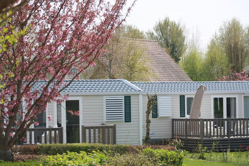 Mietunterkünfte - Cottage Rivièra - Camping Sites et Paysages LE VAL D'AUTHIE