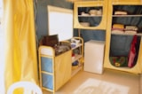Rental - Canvas bungalow 16m² - without toilet blocks - Camping Bellevue