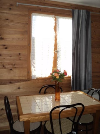 Wooden Chalet 35m² with private facilities