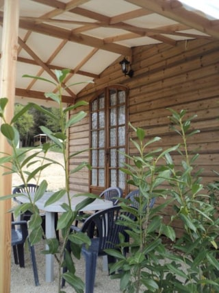 Wooden Chalet 31m² with private facilities