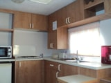 Rental - Mobil-Home 21m² / 2 bedrooms - sheltered terrace (Sunday) - Camping Bellevue