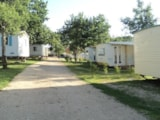 Rental - Mobil-Home 21m² / 2 bedrooms - sheltered terrace (Saturday) - Camping Bellevue