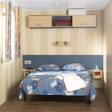 Rental - Mobilhome super ASTRIA 16m² - 1 bedroom, TV - Camping La Grande Tortue