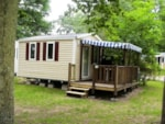 Alloggi - Mobilhome super ASTRIA 16m² - 1 bedroom, TV - Camping La Grande Tortue