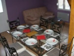 Mietunterkünfte - 1 Chalet 60m² - located at 500m from the campsite - Camping La Grande Tortue