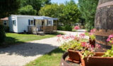 Rental - Mobile home 4p - 28 m² SUPER MERCURE TV - Camping La Grande Tortue