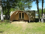 Rental - Coco Sweet; between the tent and a mobile-home there is Coco! - Camping La Grande Tortue