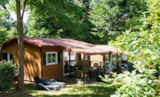 Rental - Chalet COUNTRY LODGE 35 m² 2 bedrooms - Camping La Grande Tortue