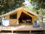 Rental - Classic IV Wood & Canvas tent - Huttopia Gorges du Verdon