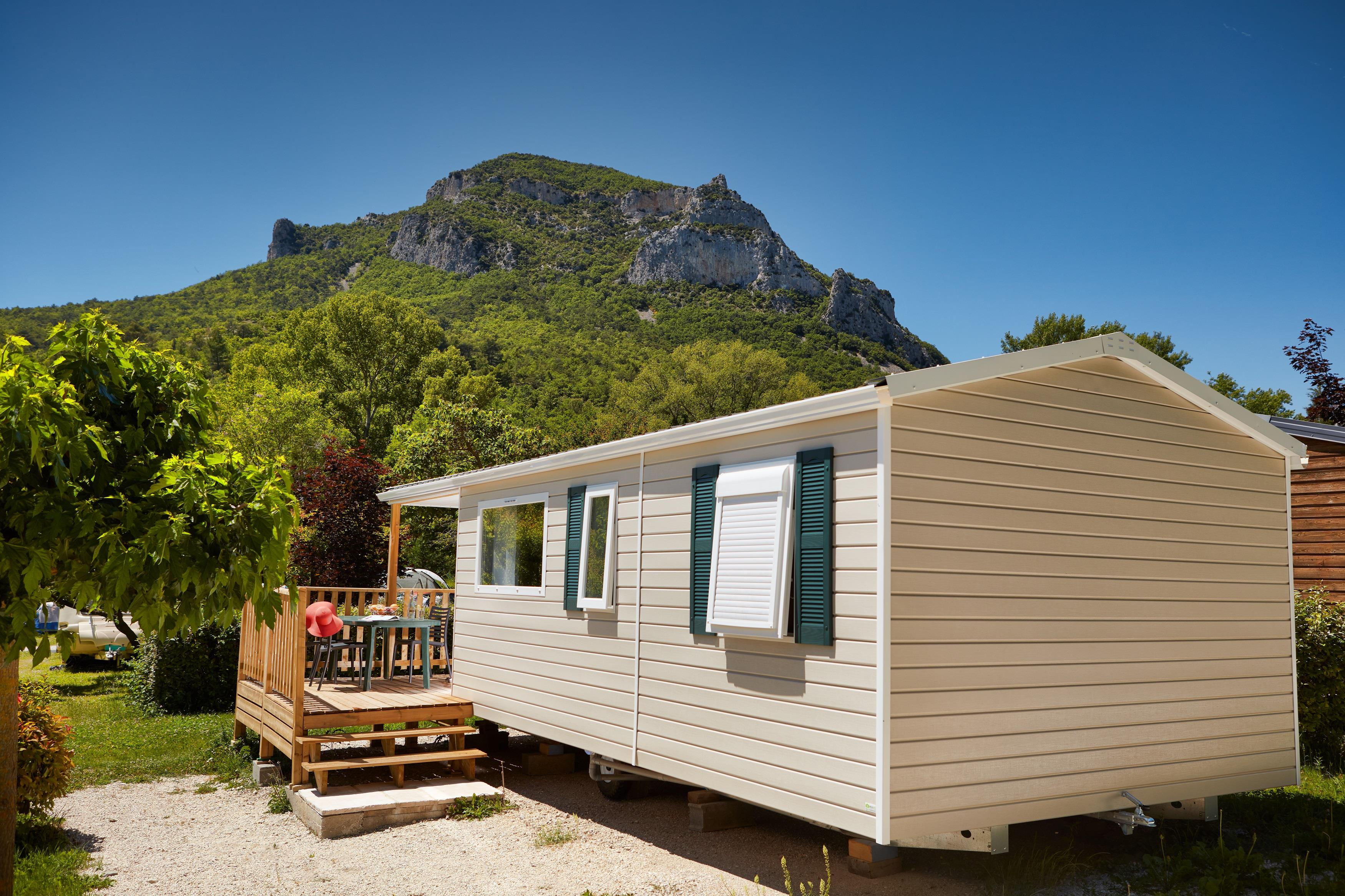 Accommodation - Mobile-Home Ciela Classic - 23M² - 2 Bedrooms - Camping Terra Verdon