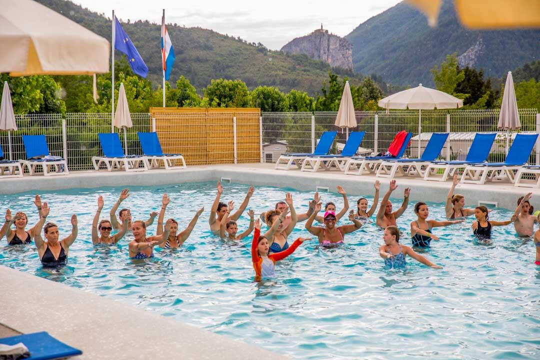 Sport activities Camping International - Castellane