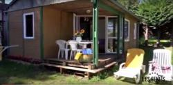 Kwatery - Wooden Chalet 2 Bdrs 28 M² - Camping Les Genêts