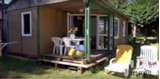 Rental - Wooden chalet 2 bdrs Saturday 28 m² - Camping Les Genêts