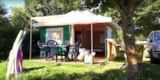 Rental - Bengali 16 m² (Furnished tent without sanitary) Saturday - Camping Les Genêts