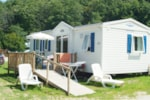 Alojamientos - COTTAGE FAMILY 32m² (3 chambres) - Camping Lac de Panthier