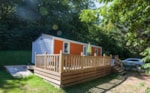 Rental - MOBILE HOME PMR (2 bedrooms + 1 sofa) - Camping Lac de Panthier