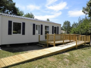 Mobile Home Handilodge 34M² - Adapted To The People With Reduced Mobility