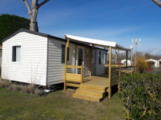 Mobil Home Evolution 31 - Tv Terrasse Couverte 31M² 6 Pers.
