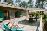 Leje - Chalet Hibiscus B - Camping Naturiste Arnaoutchot