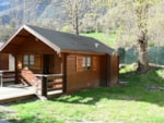 Rental - Chalet Janvier - 20m² - 1 bedroom - Le Champ du Moulin