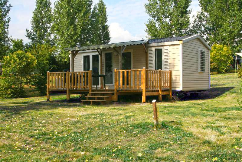 Location - Mobil Home Riviera - Camping Le Colombier