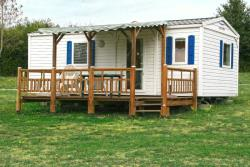 Rental - Mobile Home Mercure Terrace - Centre de Vacances Naturiste le Colombier