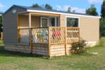 Huuraccommodaties - Mobil Home Loggia - Centre de Vacances Naturiste le Colombier
