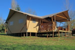 Huuraccommodaties - Luxury Lodge - Centre de Vacances Naturiste le Colombier