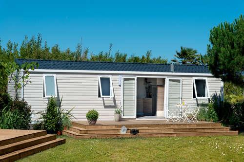 Location - Mobil Home Capucine - Camping Le Colombier