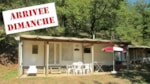 Alojamientos - Mobil-Home COTTAGE 24m² 2 cuartos (de domingo a domingo) - Le Moulin de David