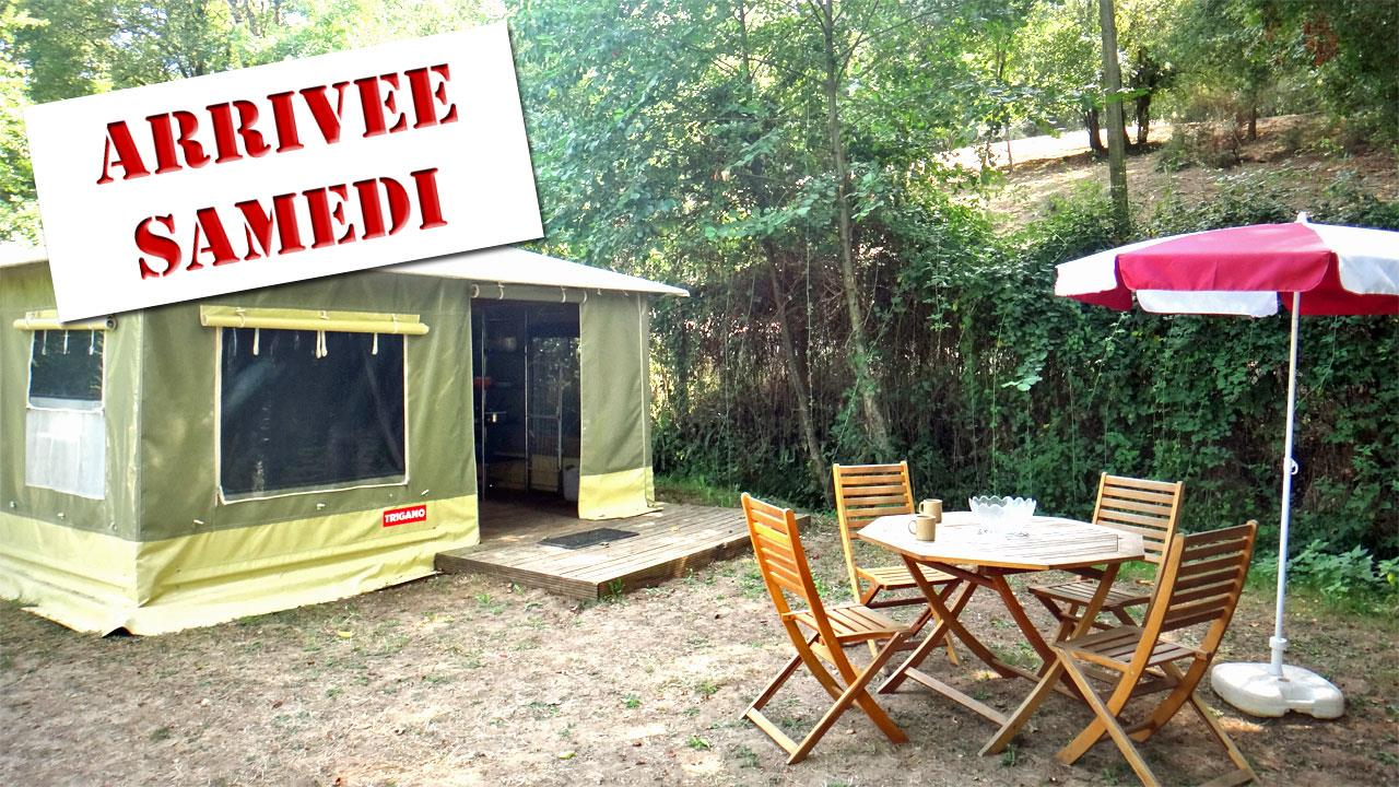 Accommodation - 2-Room 20 Sqm Caraïbes Canvas Bungalow (From Saturday To Sunday) - Le Moulin de David