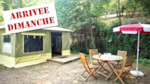 Rental - 2-room 20 sqm CARAÏBES canvas bungalow (from Sunday to Sunday) - Le Moulin de David