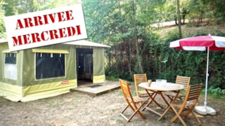 2-room 20 sqm CARAÏBES canvas bungalow (Wednesday to Wednesday)