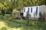 Mobilheim 29 m2 TI, 2 bedrooms, bathroom and toilets separated, with decking