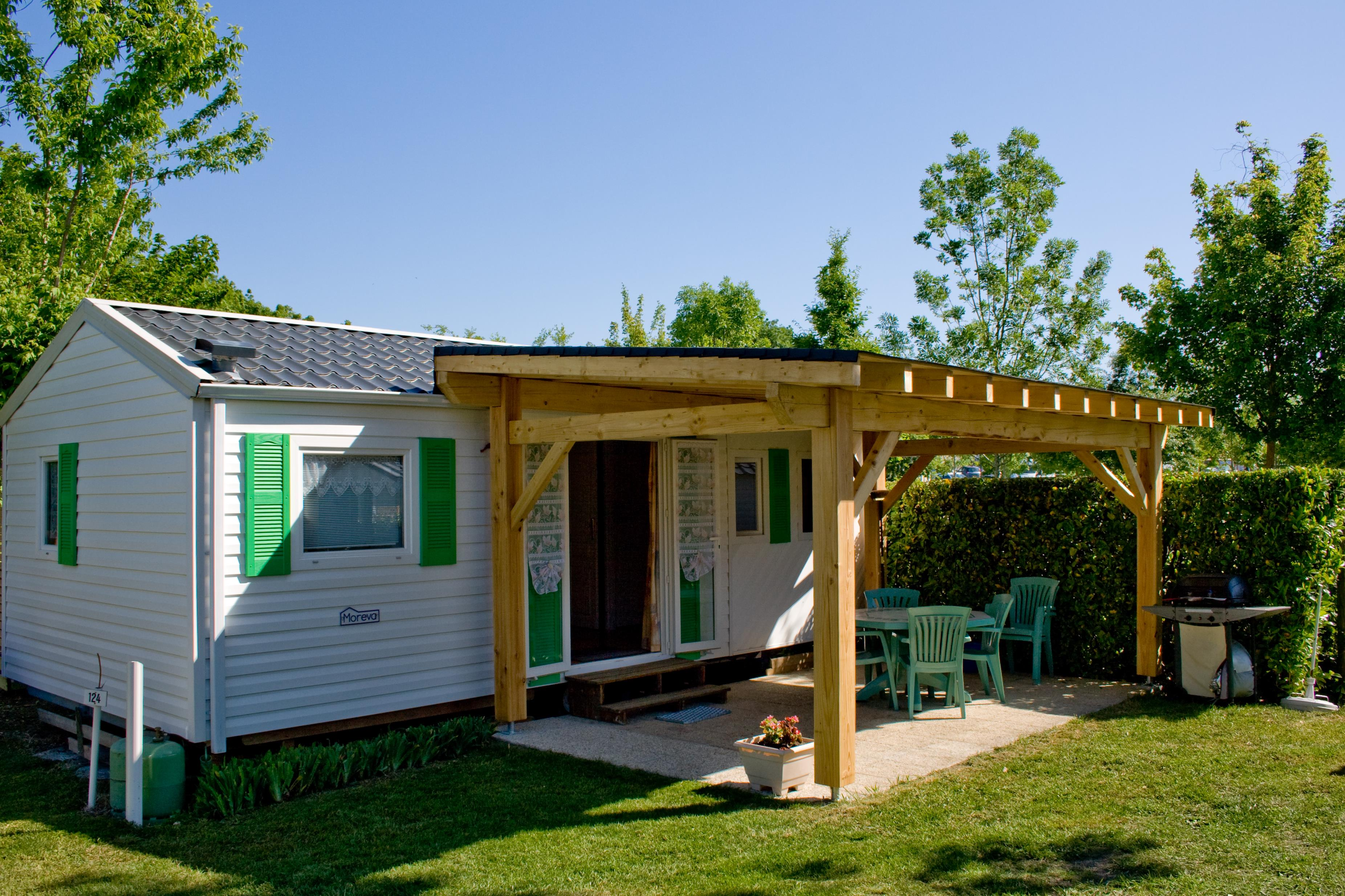 Location - Mobil Home Grand Confort - Camping Val Vert